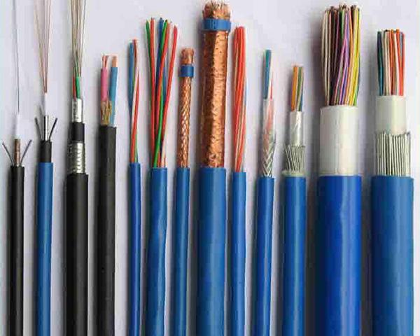 氟塑料绝缘橡皮护套多芯控制电缆