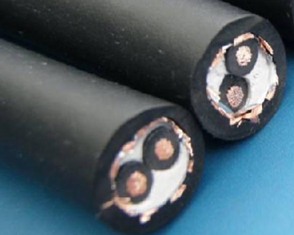 橡皮绝缘编织软电缆